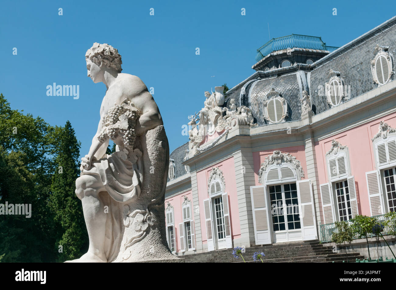 statue, baroque, germany, german federal republic, style of construction, Stock Photo