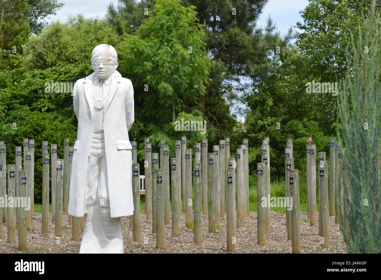 National Memorial Arboretum - Stock Image