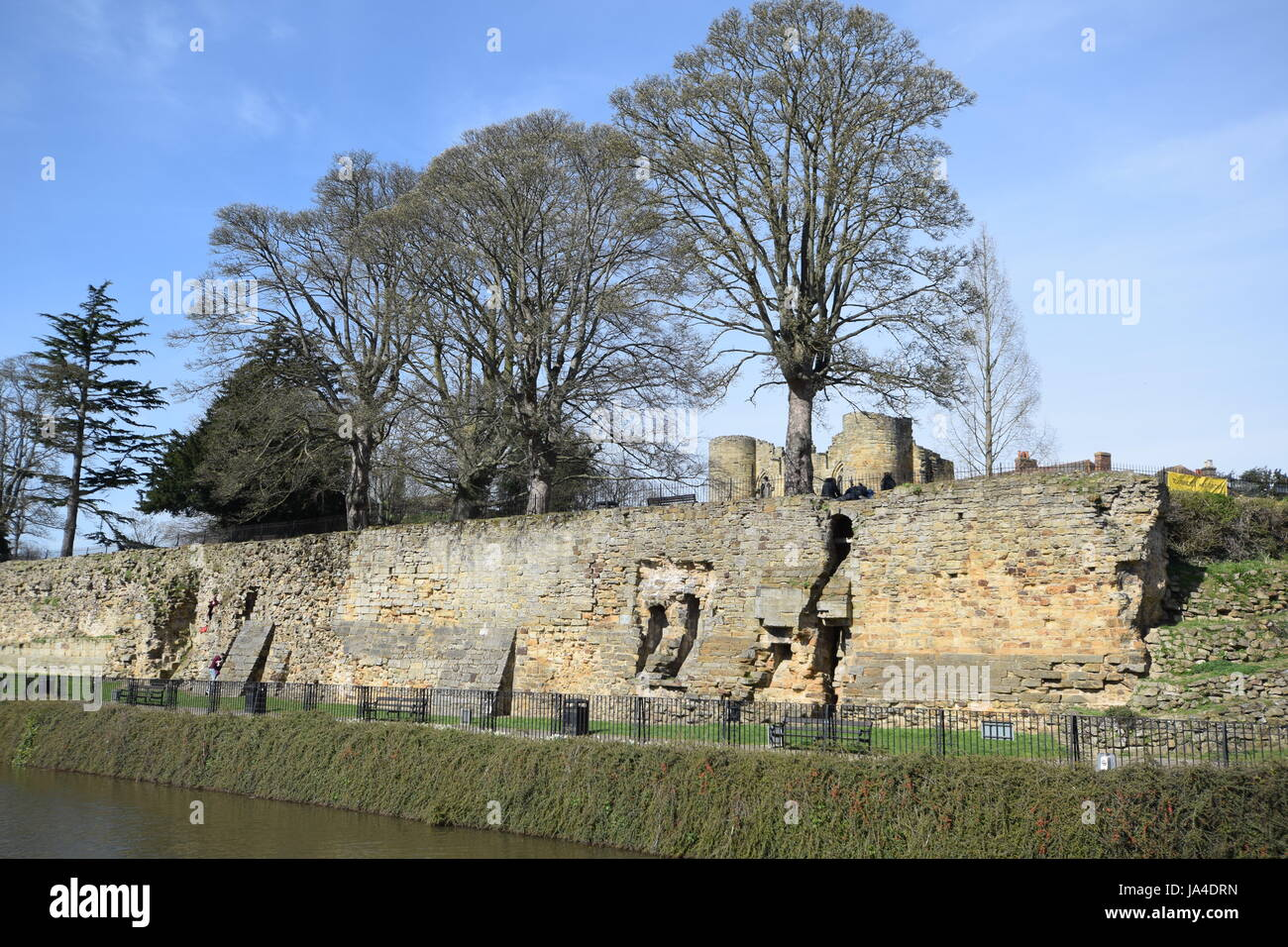 Tonbridge Castle 2017 - Stock Image
