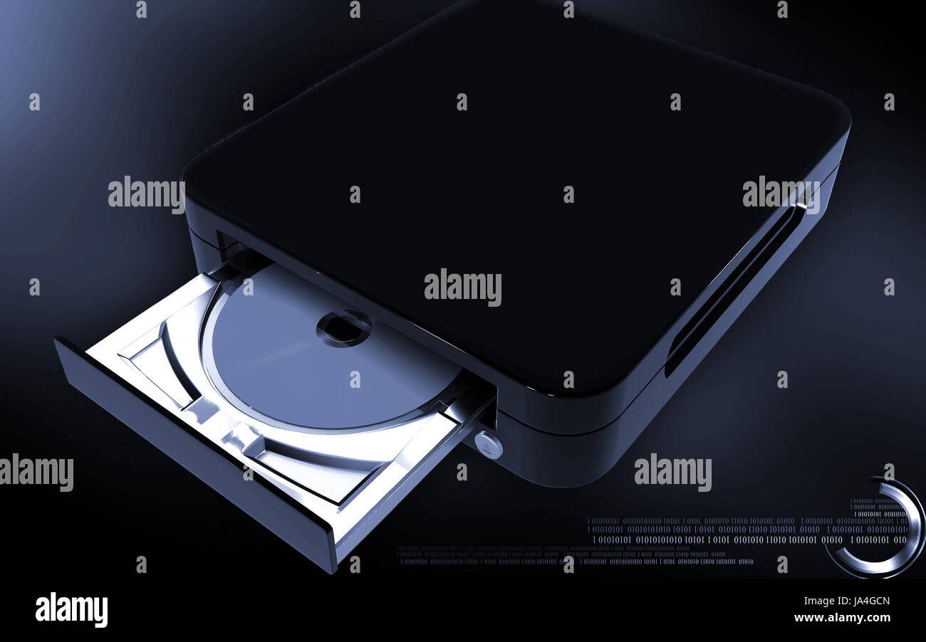 opening plastic Stock Photo