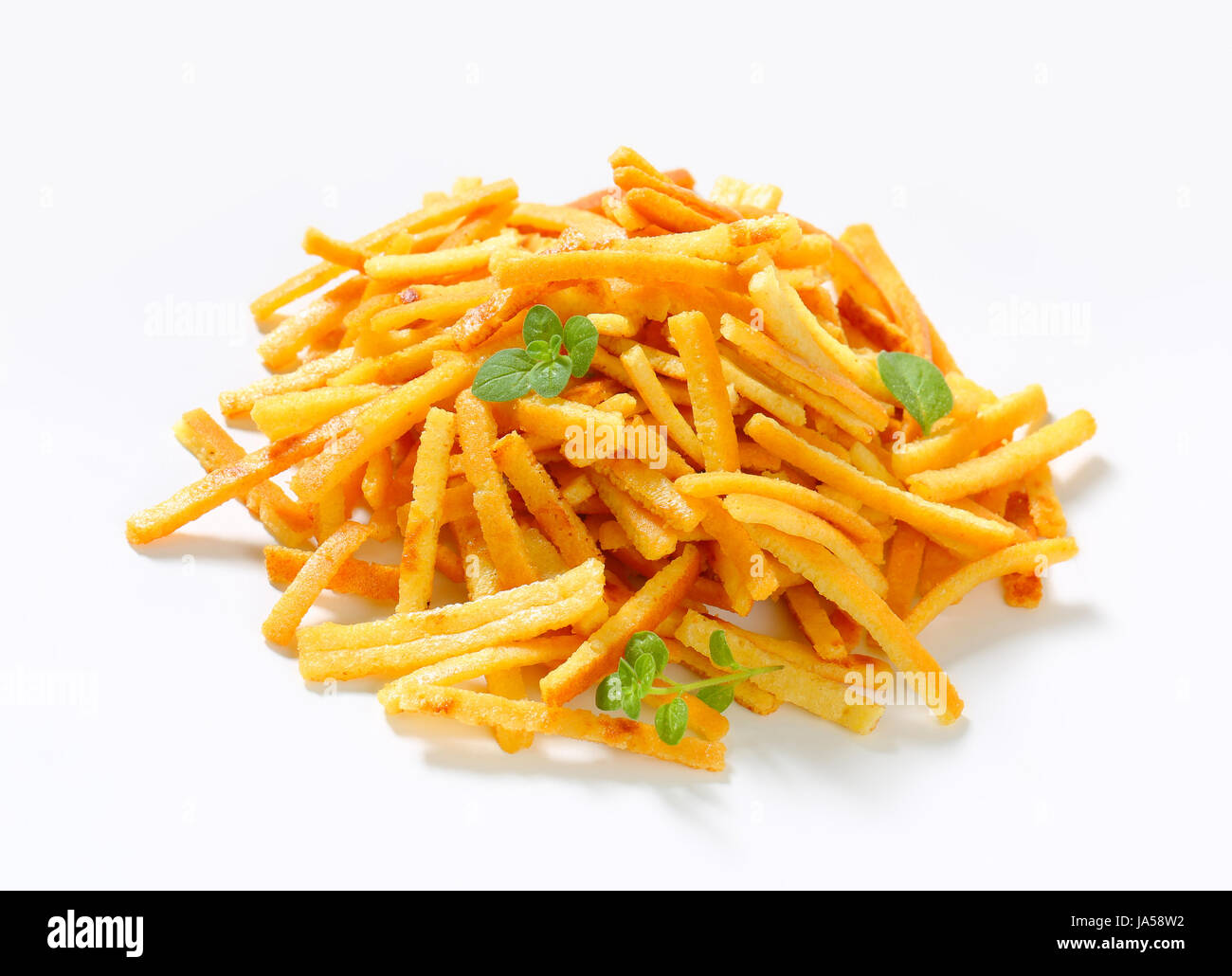 food, aliment, closeup, noodles, heap, sliced, omelet, fried, slim, arid, - Stock Image