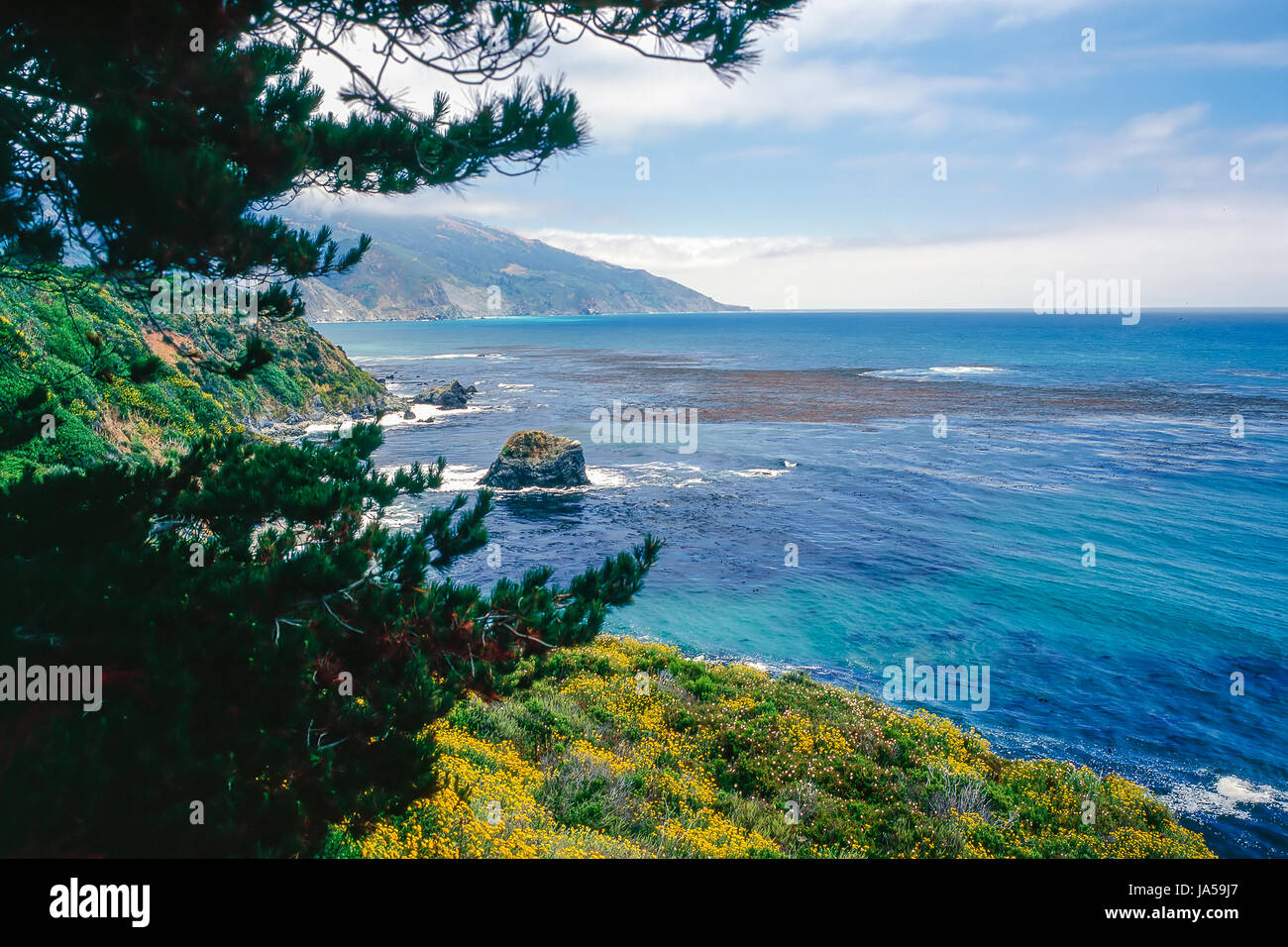 Big Sur, California - Stock Image