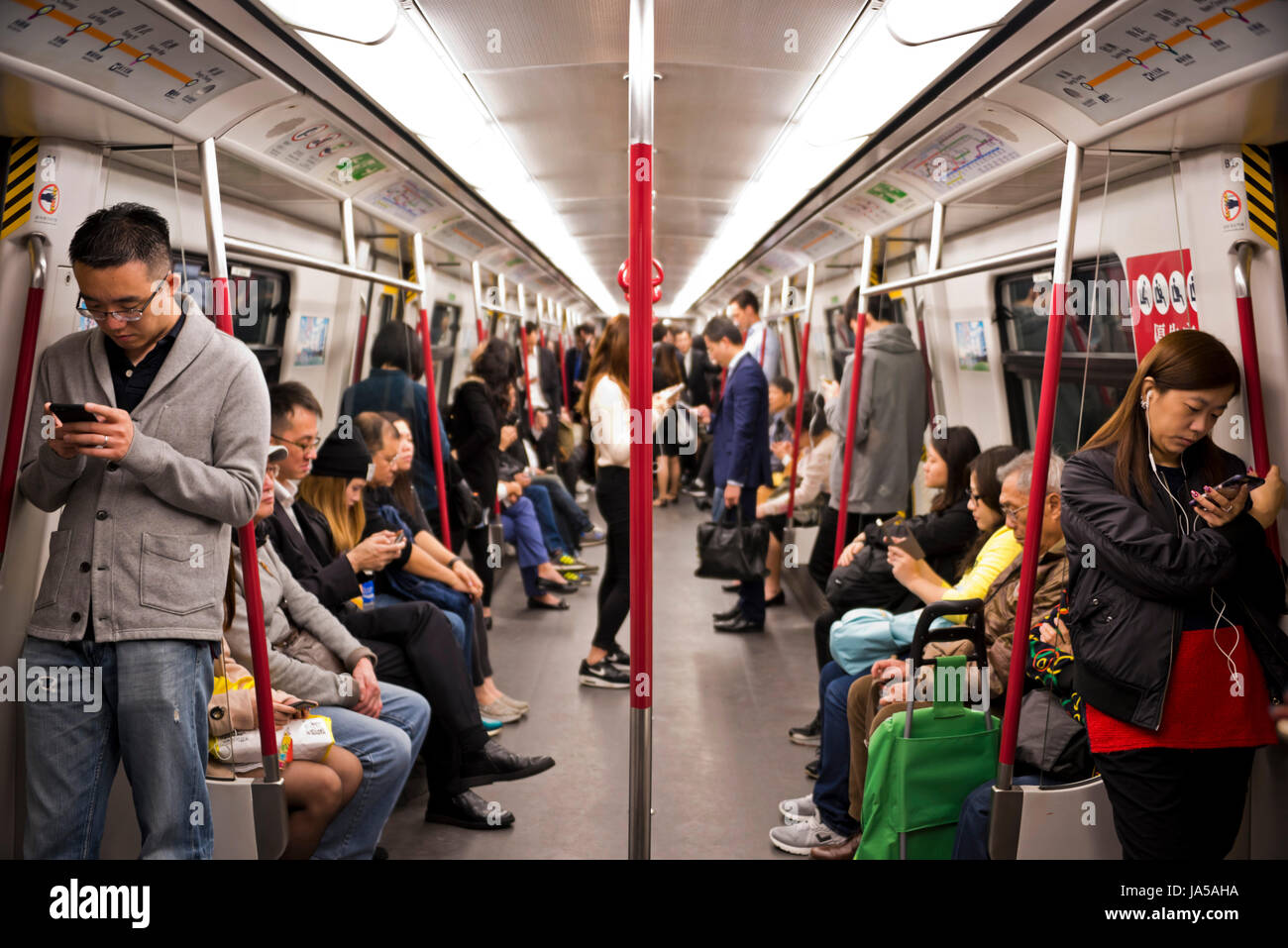 Image result for metro rail hong kong passengers