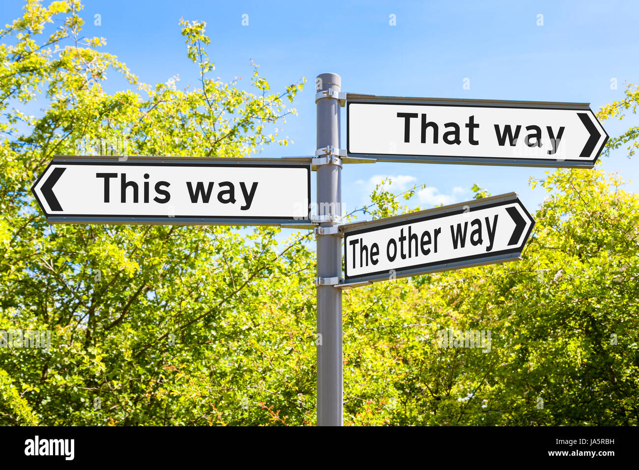 Making Choices High Resolution Stock Photography and Images - Alamy