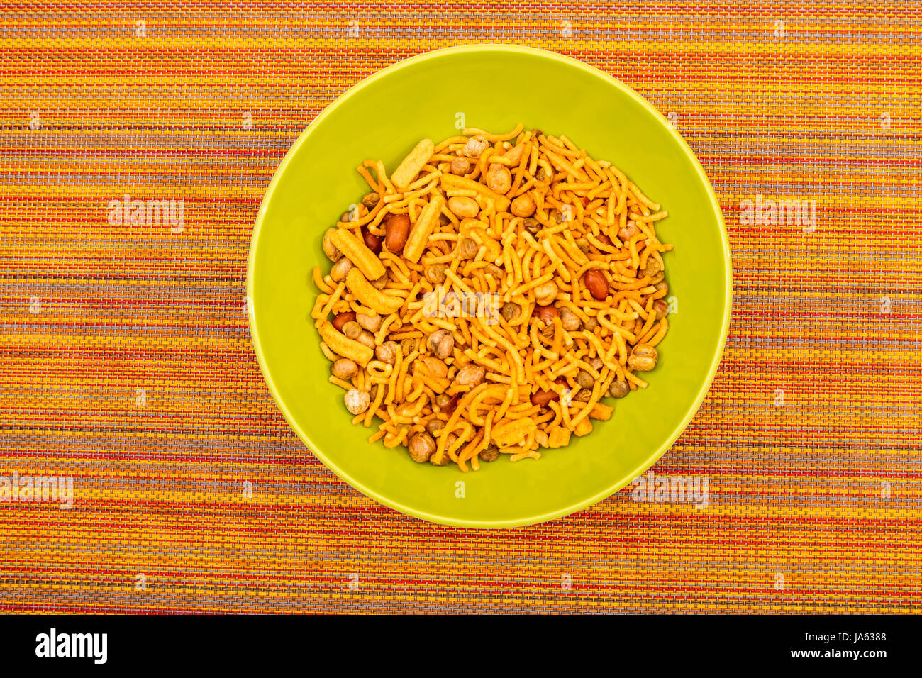 food, aliment, salt, nibble, spice, india, hot, party, celebration, - Stock Image