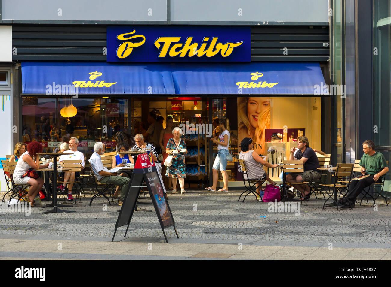 Berlin July 24 Shop Tschibo On Kurfuerstendamm Tchibo Is A