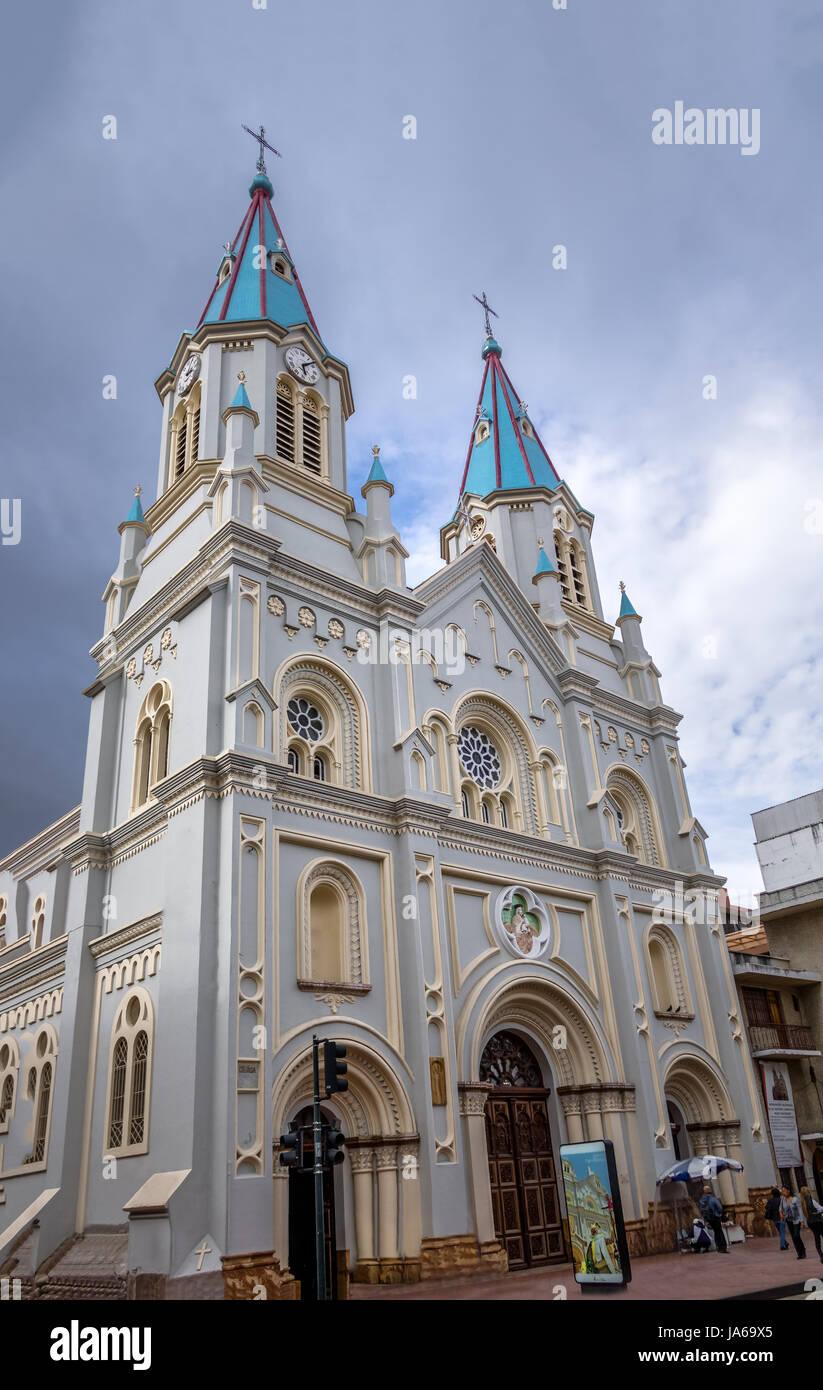 San Alfonso Church - Cuenca, Ecuador - Stock Image