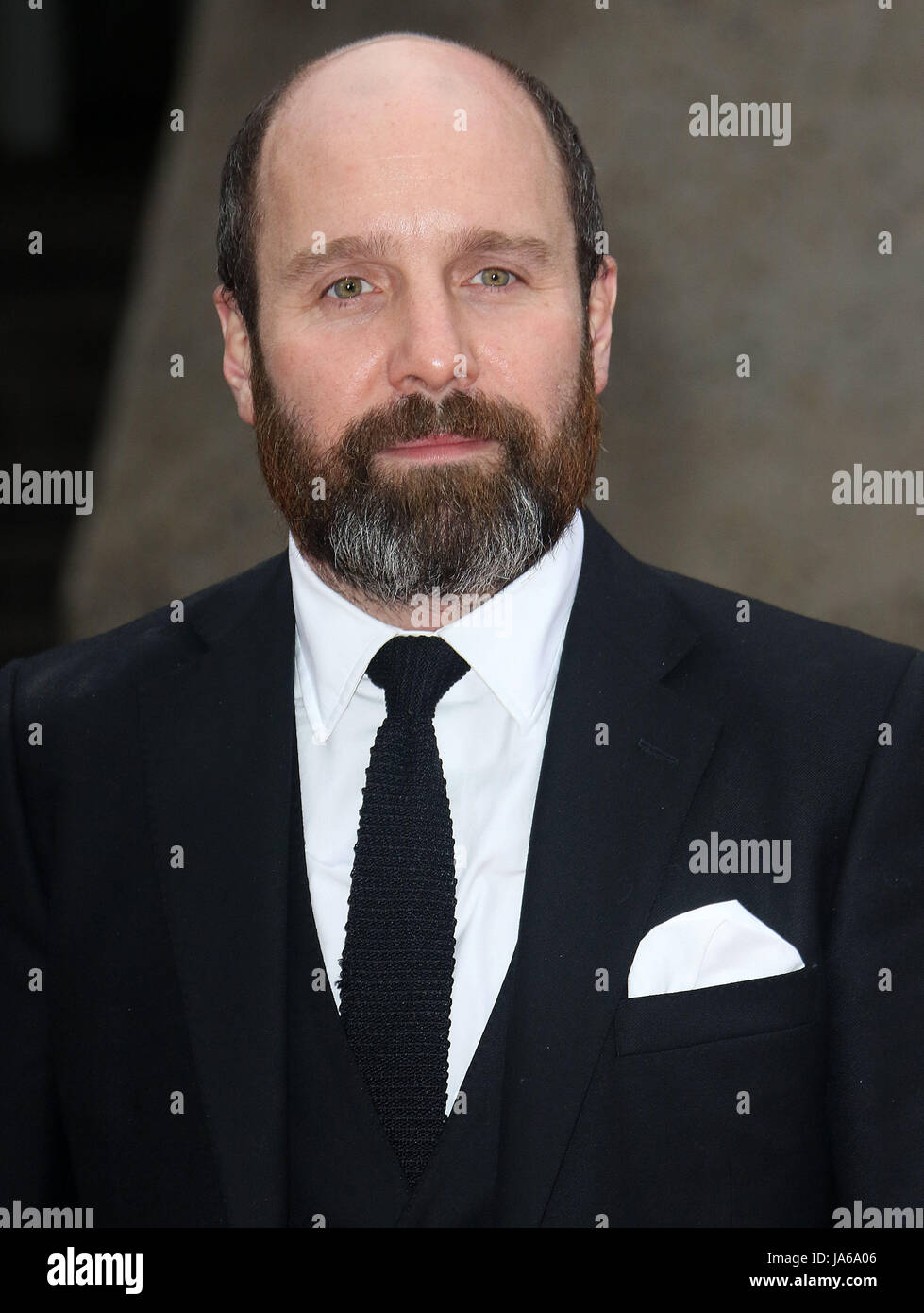 May 08, 2017 - Johnny Harris attending 'Jawbone' UK Premiere at BFI Southbank in London, England, UK - Stock Image