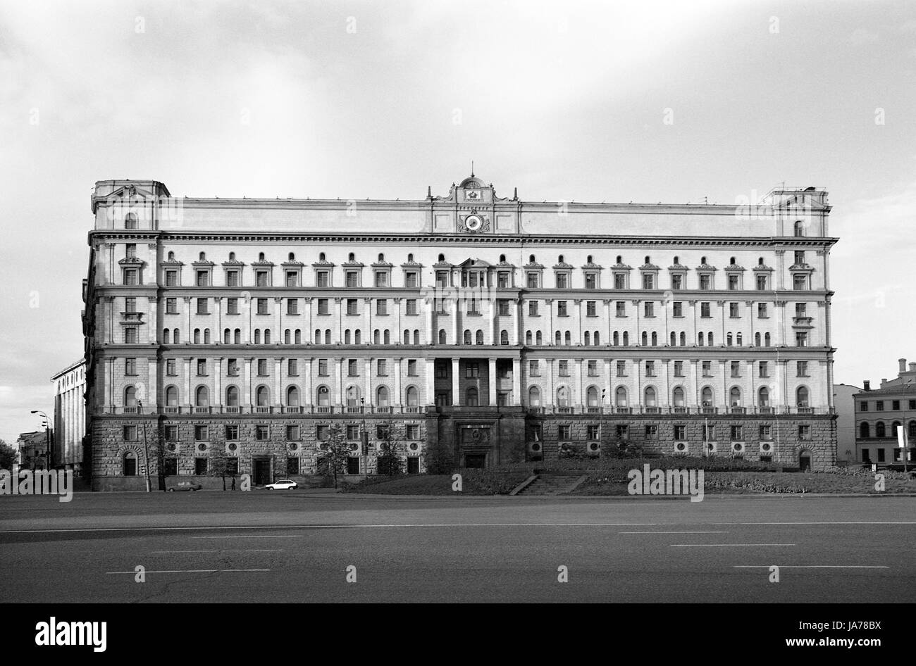 FSB (former KGB) building on Lubyanka Square in Moscow - Stock Image