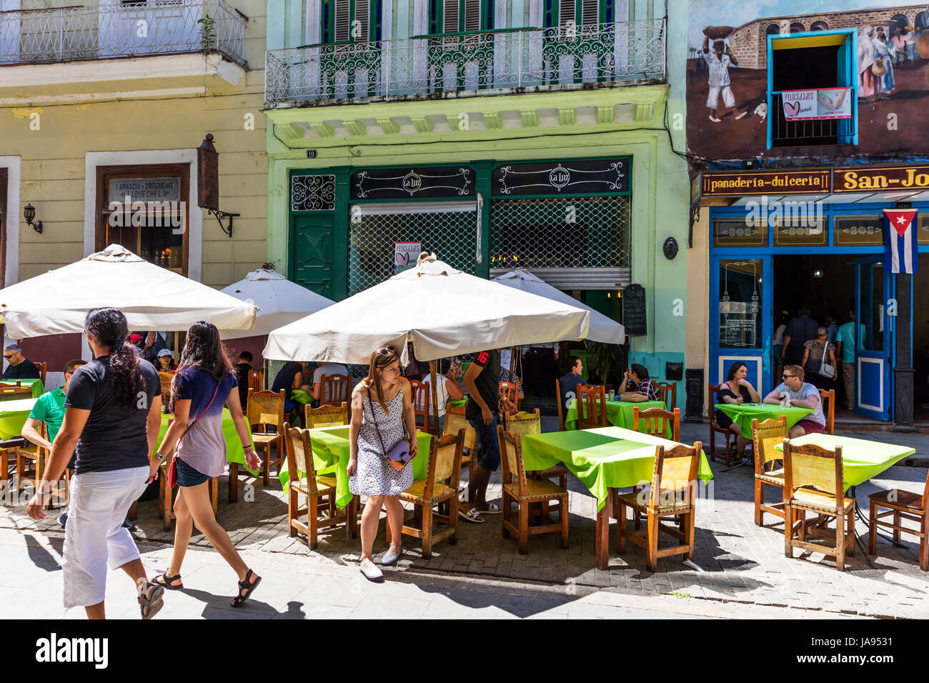 San Jose Restaurant Dining Out In Havana Cuba Eating Out