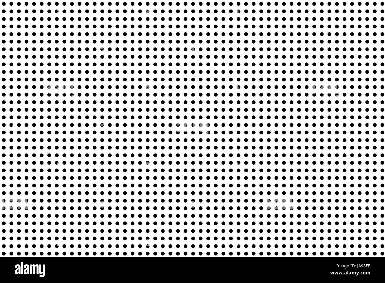 Small black dots on a white surface