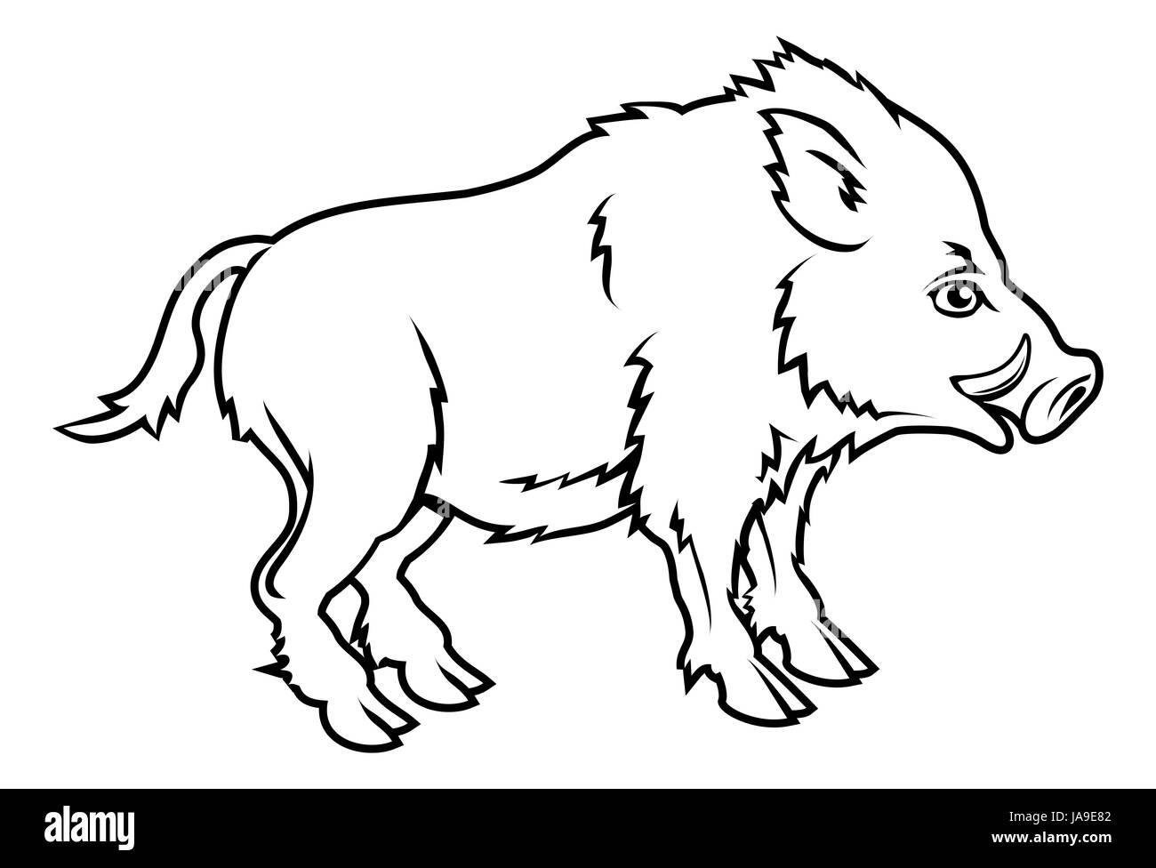 birth, childbirth, parturition, delivery, graphic, animal, wild, new, - Stock Image