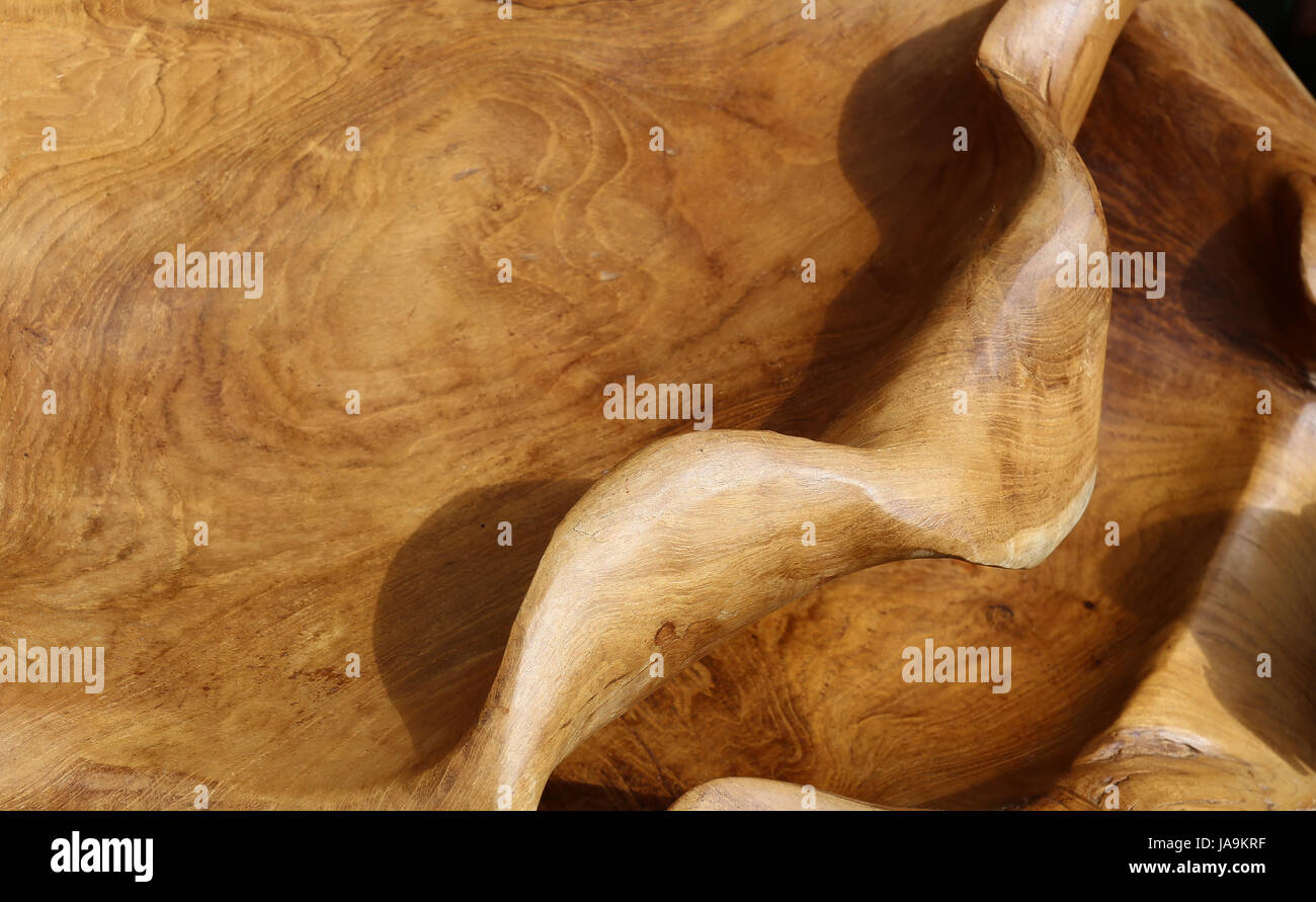 wood, exotic, polished, fine, detail, wood, brown, brownish, brunette, rough, - Stock Image