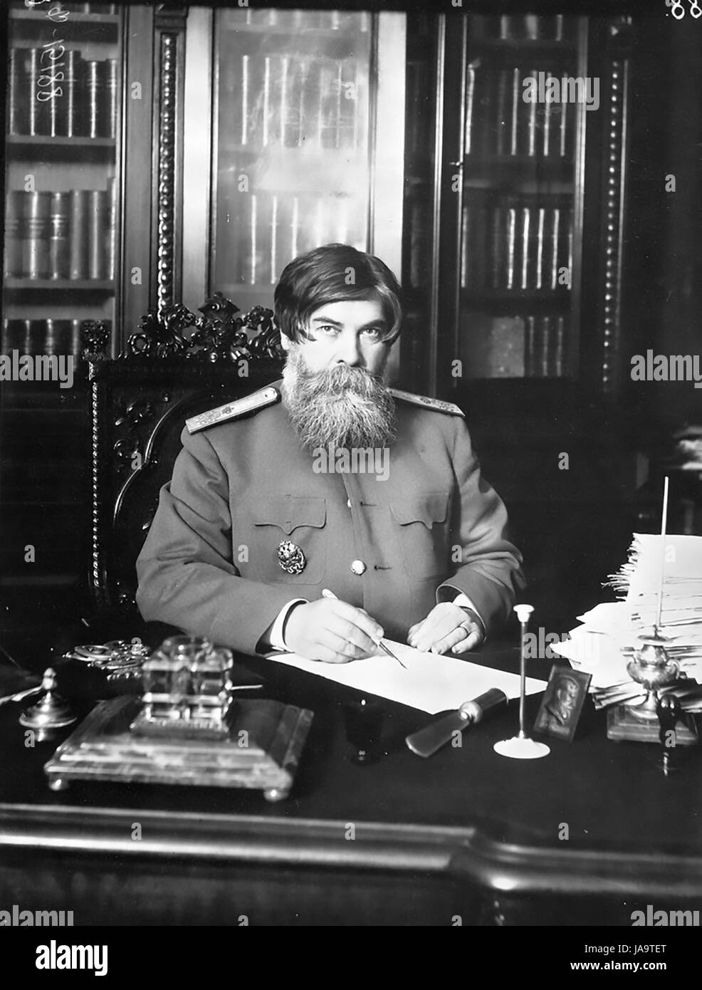 VLADIMIR BEKHTEREV  (1857-1927) Russian neurologist about 1913. Photo: Karl Bulla Stock Photo