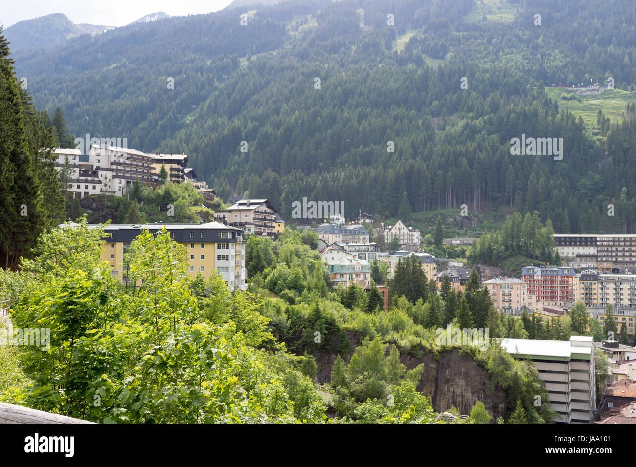 Bad Gastein Gastein Austria Gasteiner Tal Kurort Stollen