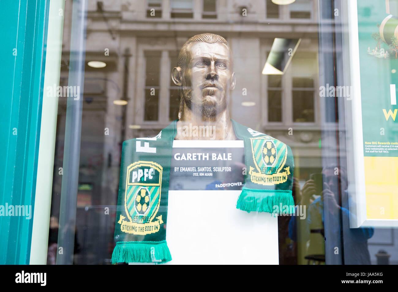 Gareth Bale Statue