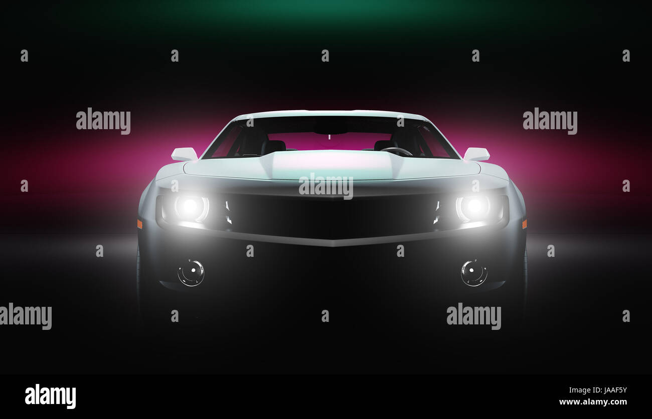 Luxury car, richness, drive - Stock Image