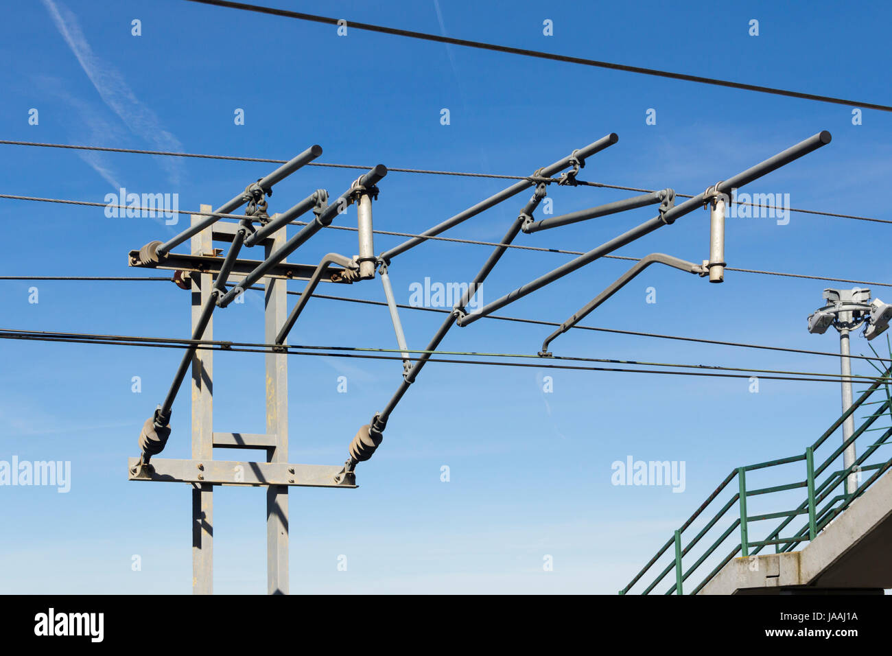 Fine Overhead Railway Electricity Supply Wire Cantilever Arm And Support Wiring Digital Resources Antuskbiperorg