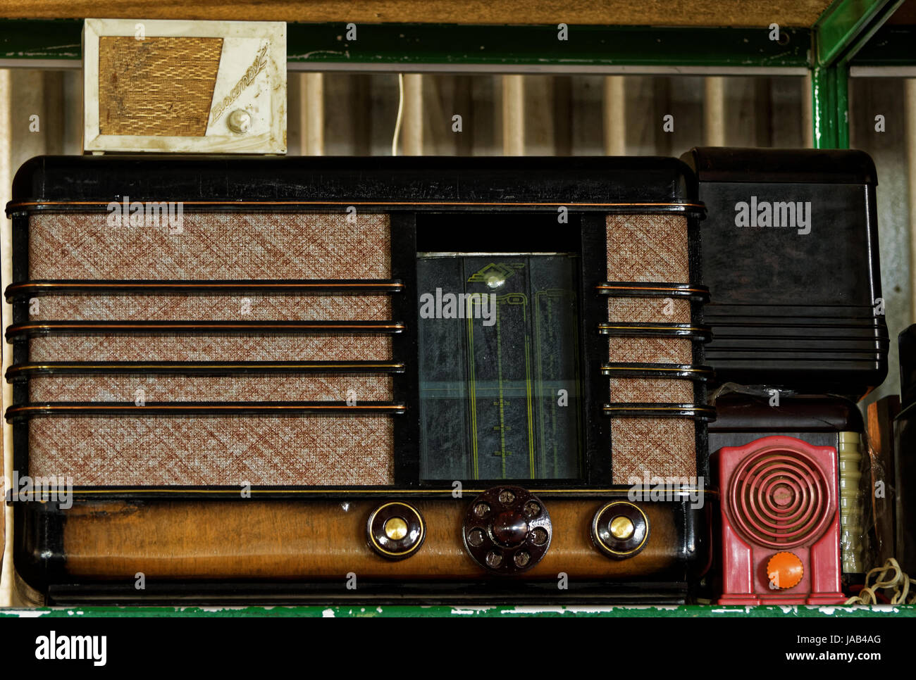 Photo old receiver - Stock Image