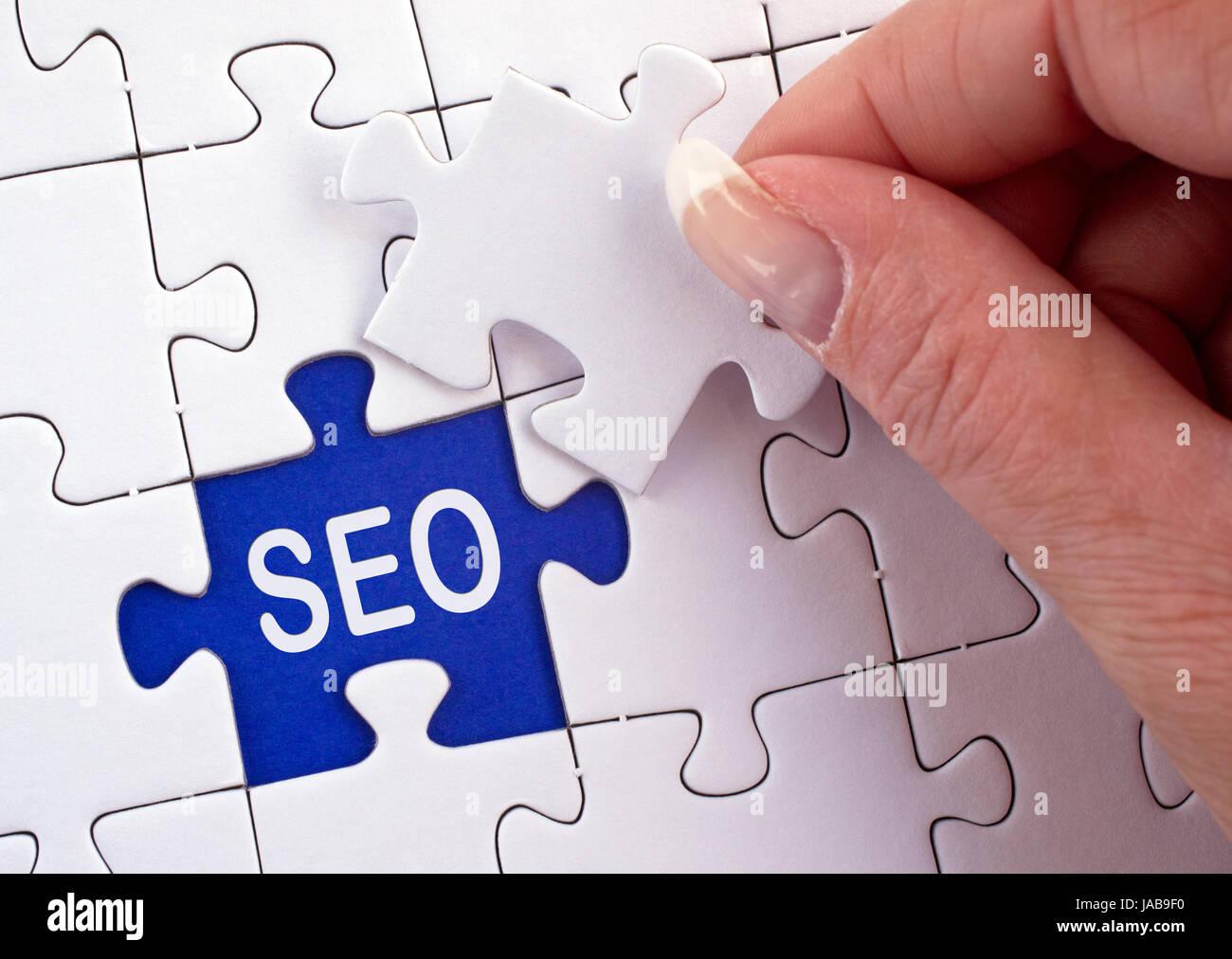 Search Engine Optimization - SEO Stock Photo