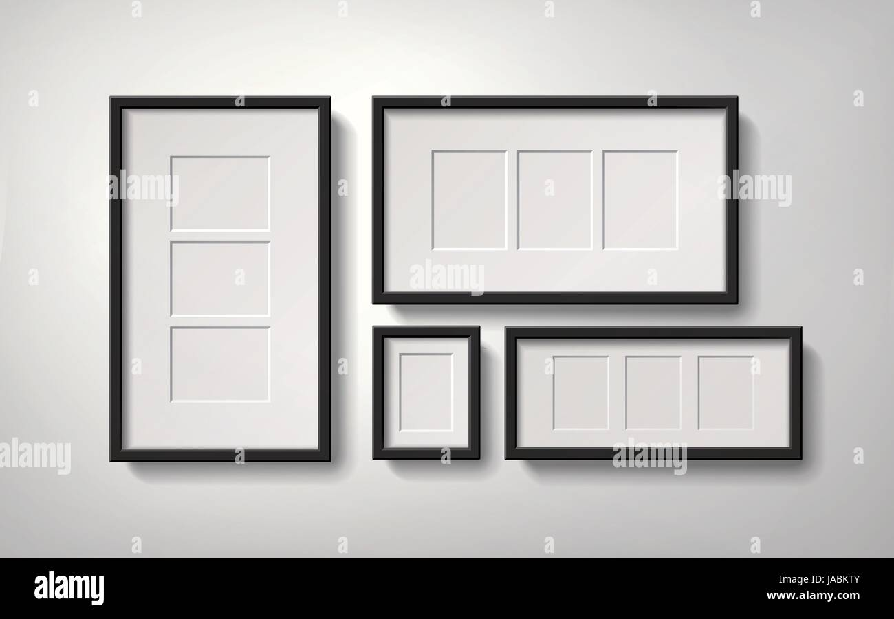 Mock Up Blank Photo Frame Stock Photos & Mock Up Blank Photo Frame ...