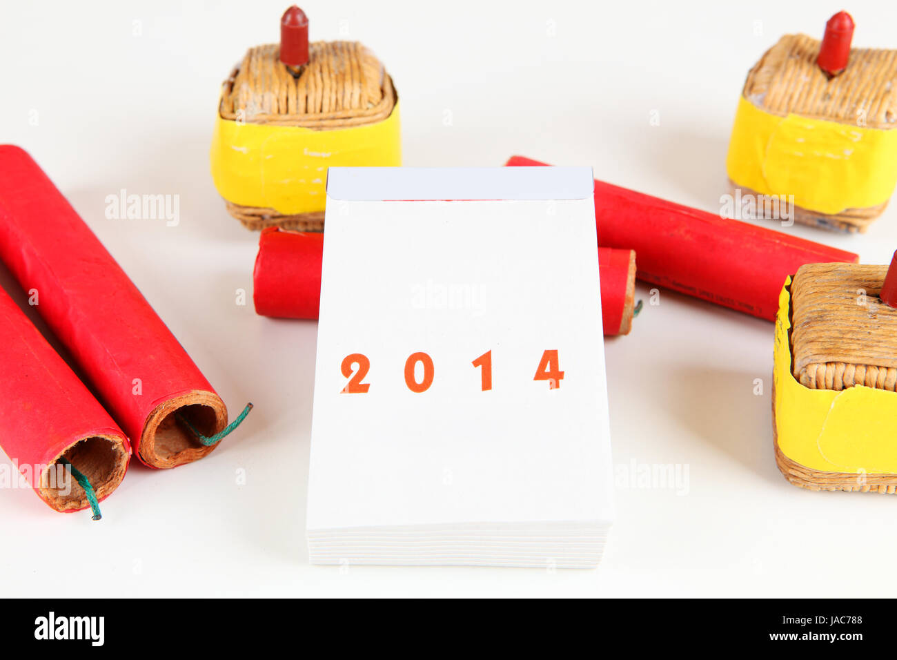 celebration new year's day Stock Photo