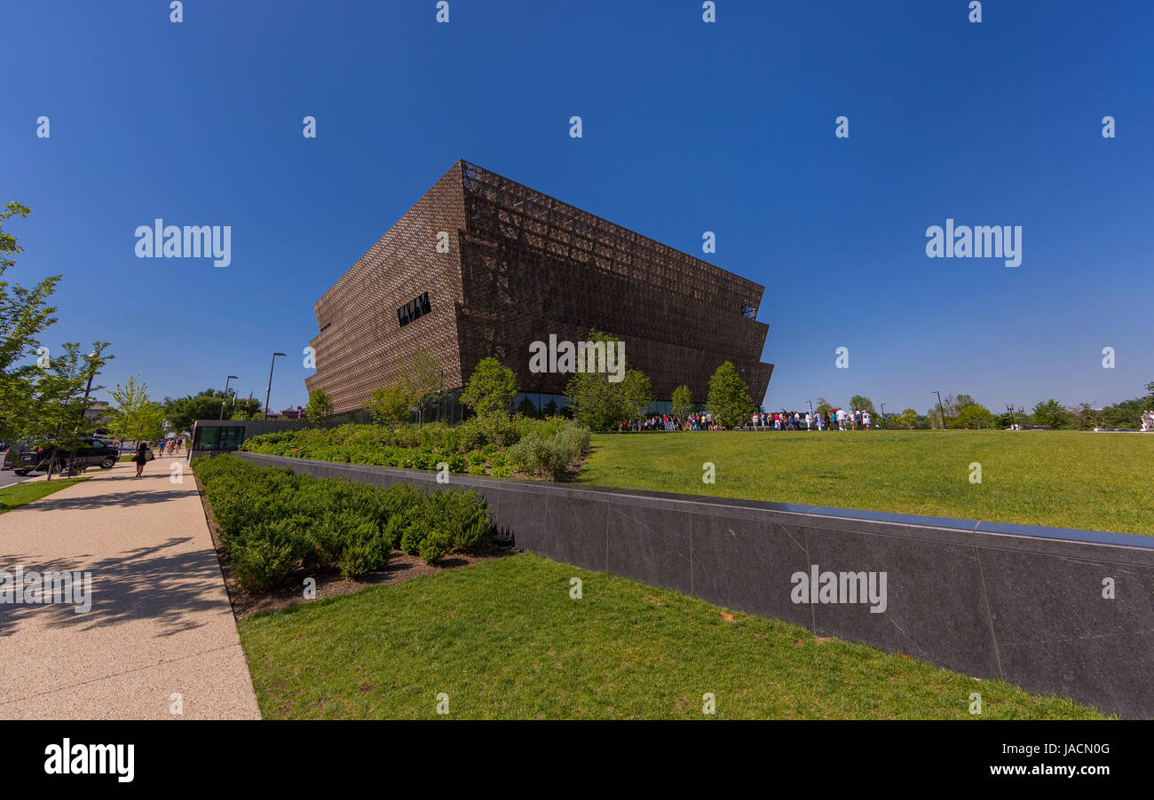 WASHINGTON, DC, USA - Smithsonian National Museum of African American History and Culture. - Stock Image