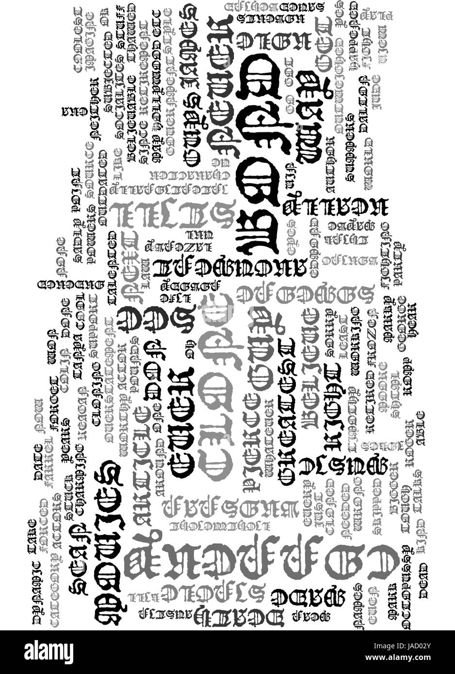 WHATEVER HAPPENED TO JAMES BOND TEXT WORD CLOUD CONCEPT - Stock Vector
