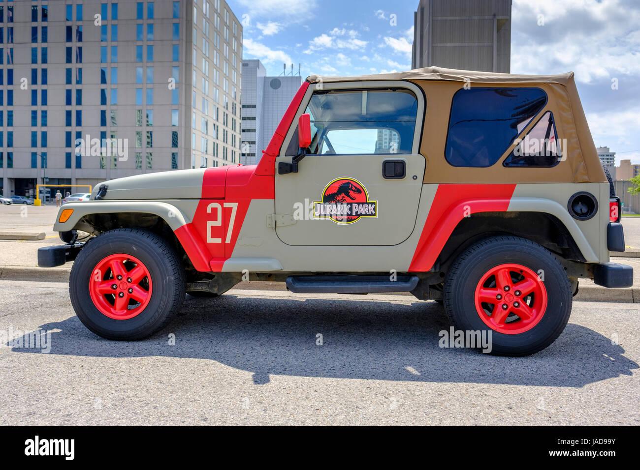 jurassic park jeep stock photos & jurassic park jeep stock images