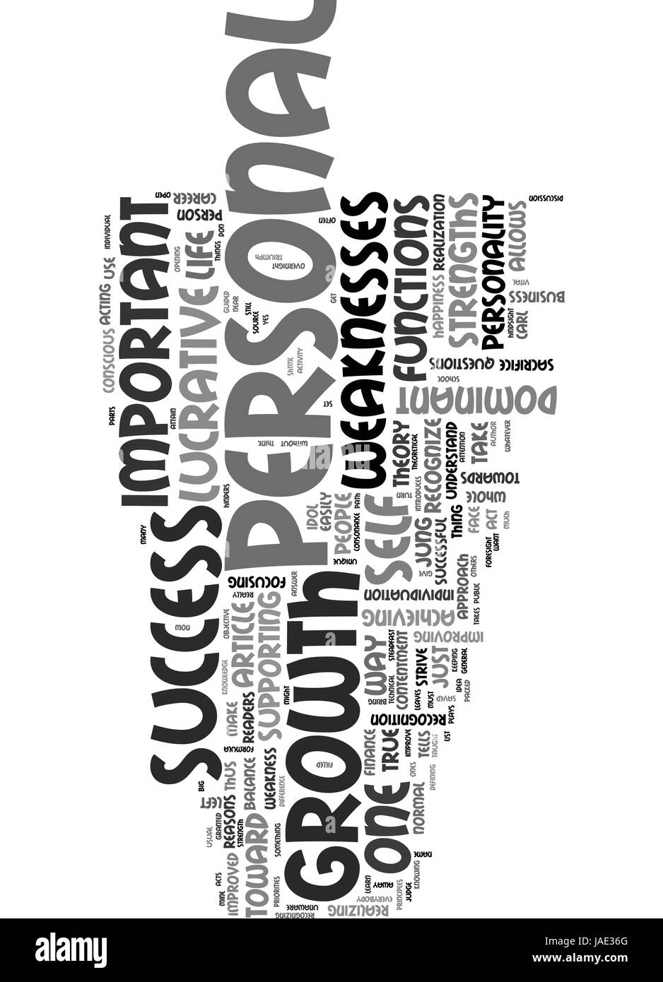 WHY PERSONAL GROWTH IS SO LUCRATIVE TEXT WORD CLOUD CONCEPT - Stock Vector