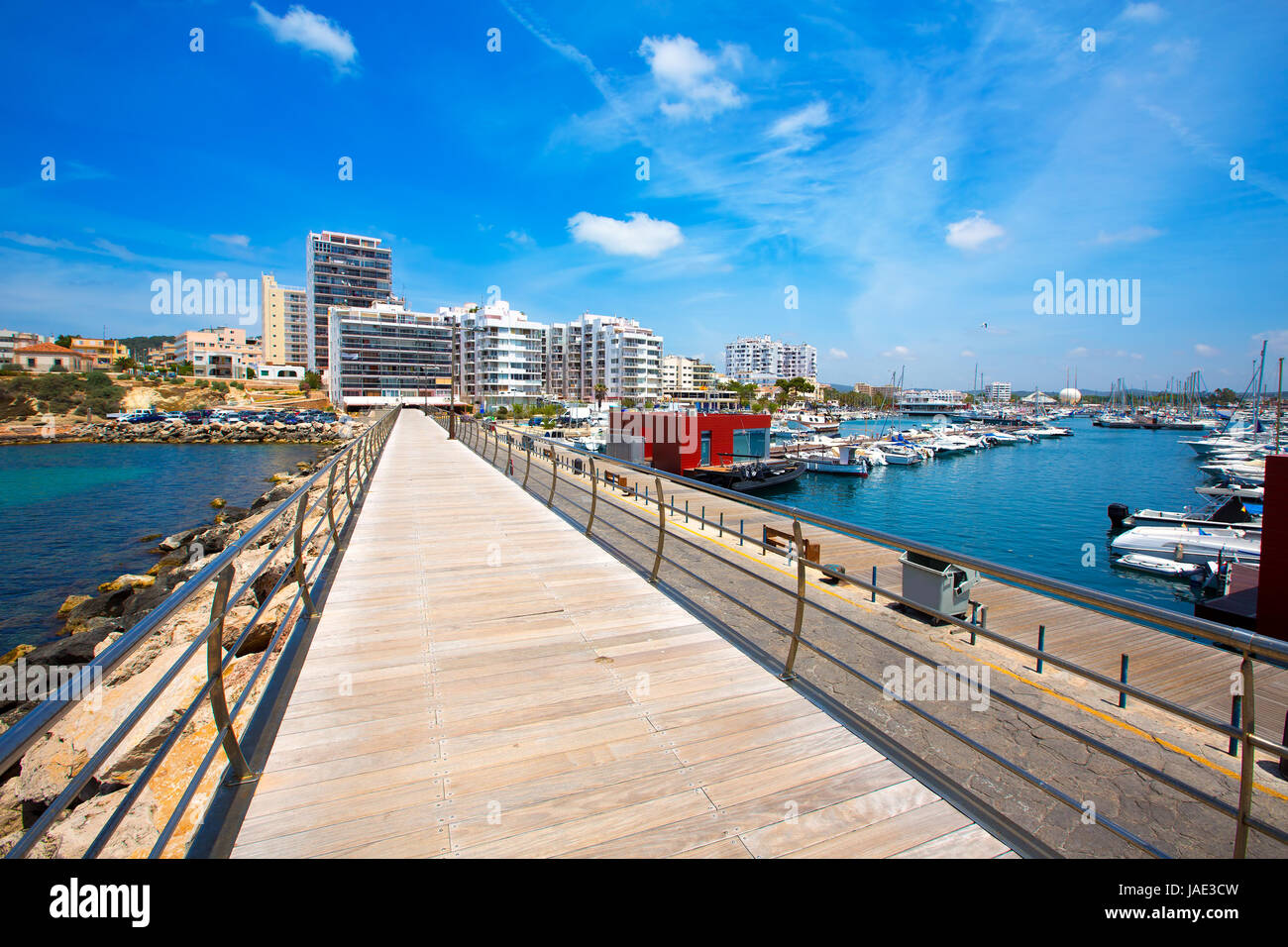 Ibiza San Antonio Abad Sant Antoni De Portmany In Balearic Islands Stock Photo Alamy