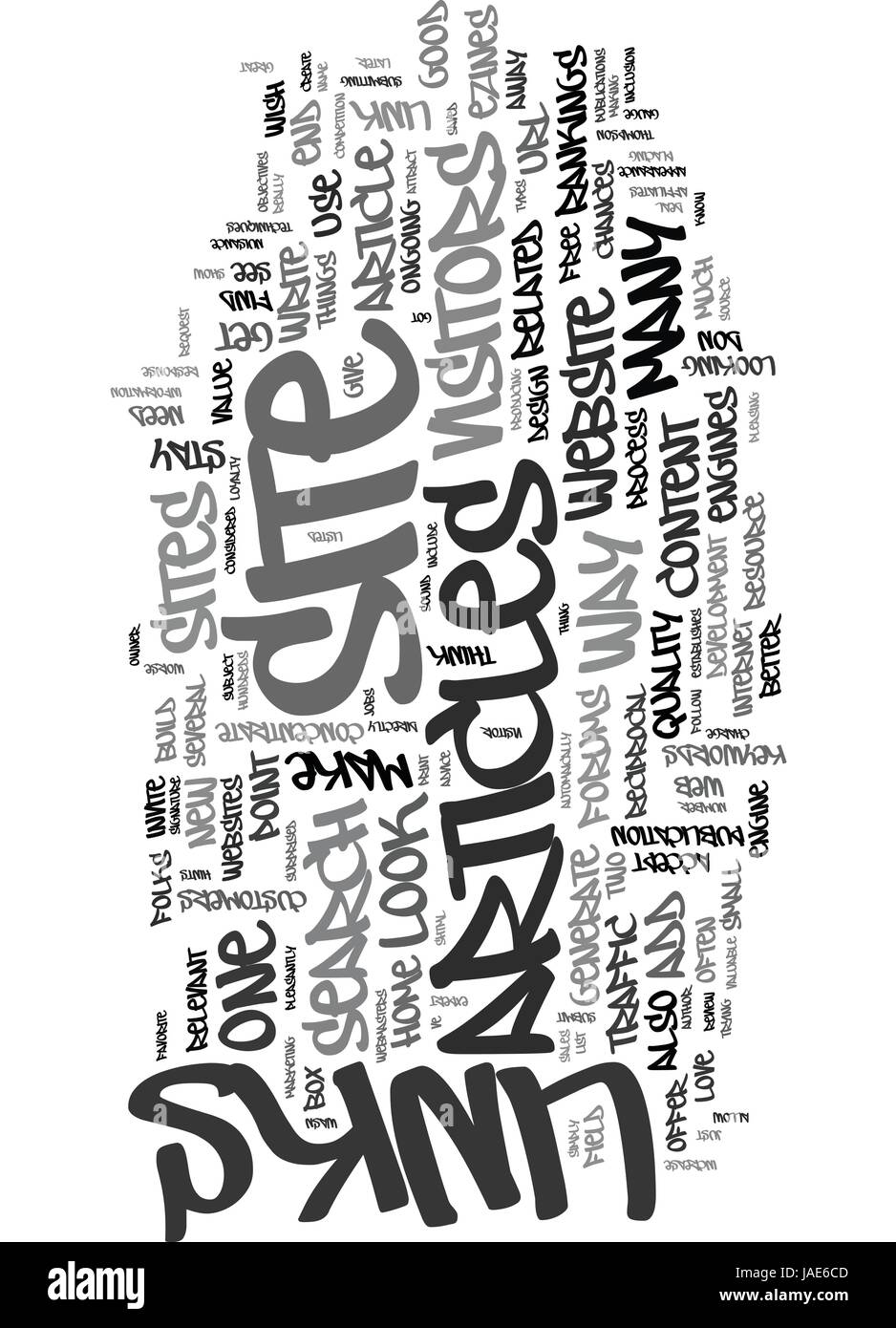 YOU VE GOT A NEW WEBSITE BUT HOW DO YOU GET FOLKS TO LOOK AT IT TEXT WORD CLOUD CONCEPT - Stock Vector