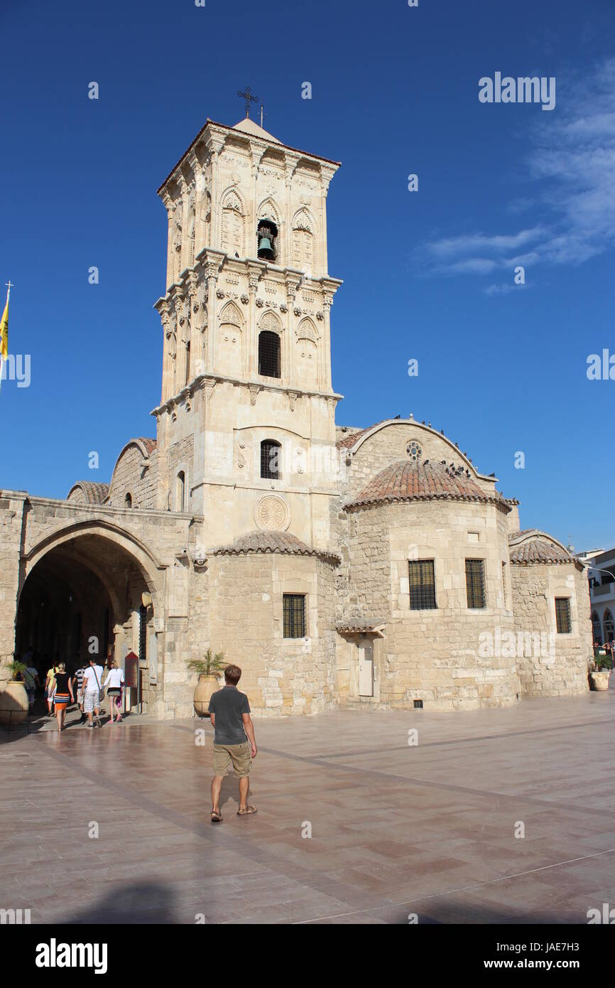 cyprus larnaca Stock Photo