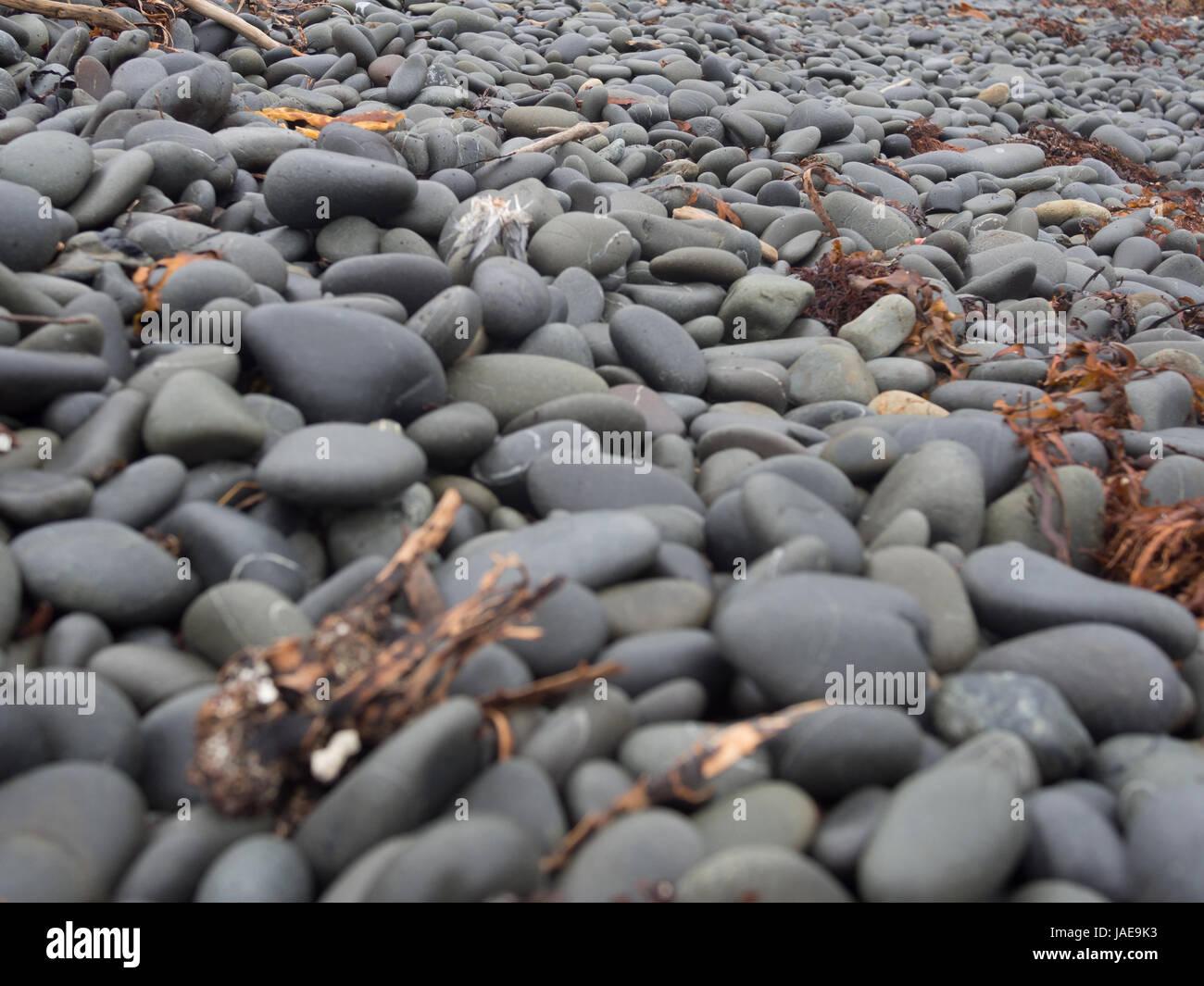 Stony Beach - Stock Image