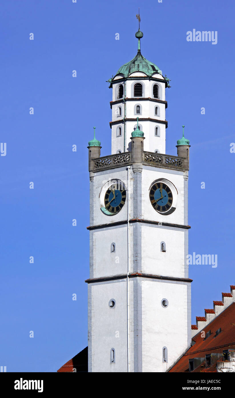 blaserturm in ravensburg Stock Photo