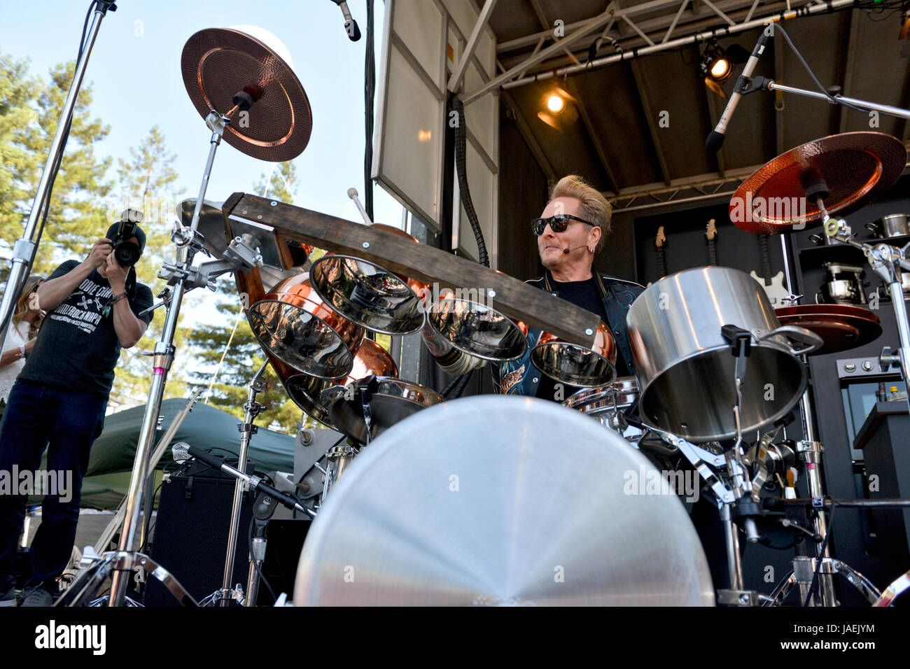 Napa California May 28 2017 Matt Sorum Playing The Williams And