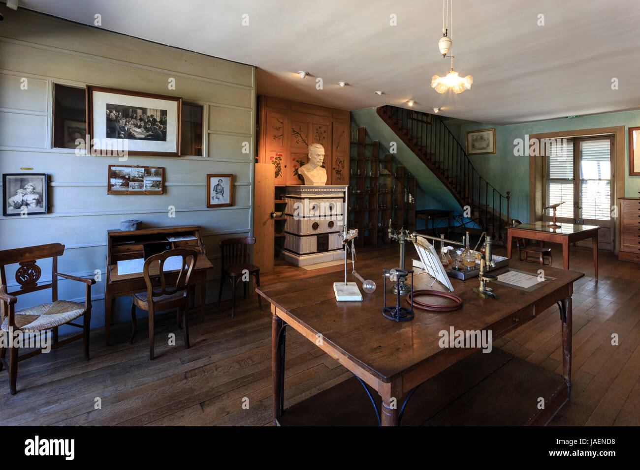 France jura arbois louis pasteur house his office and