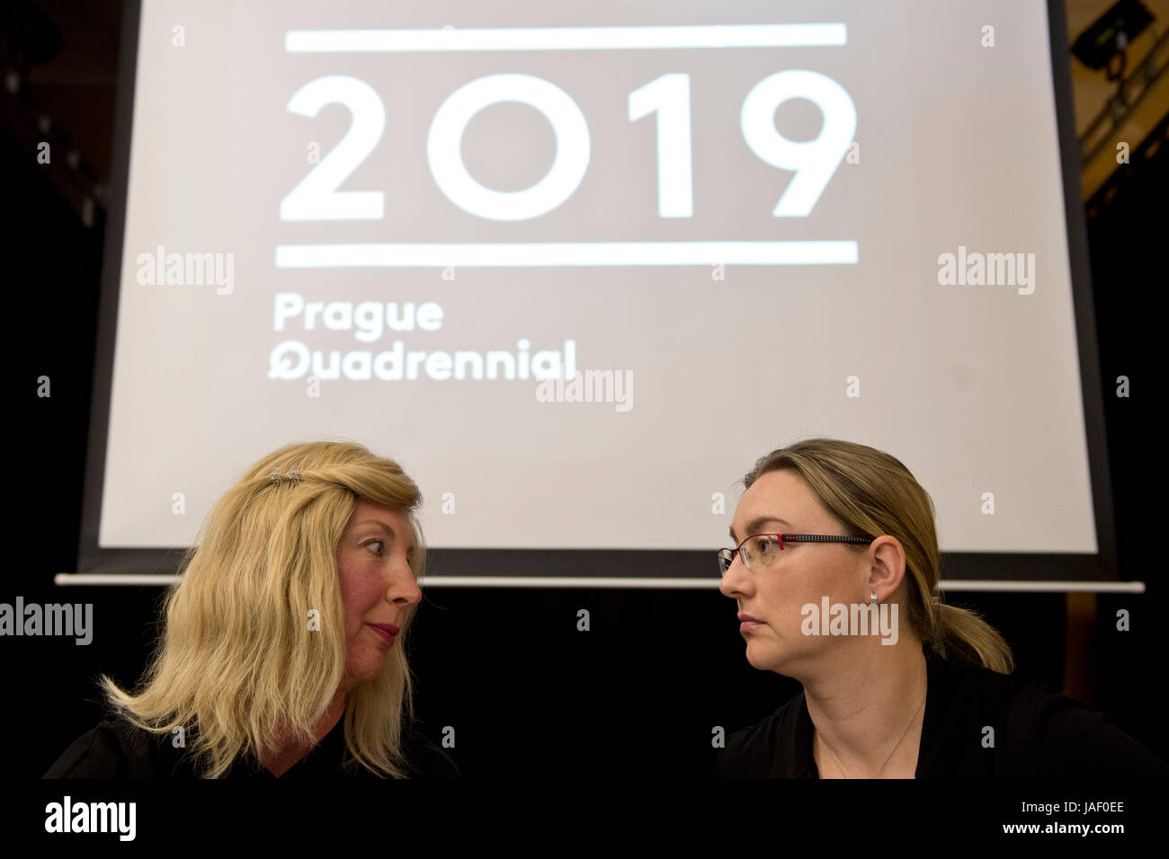 The 14th Prague Quadrennial of Performance Design and Space (PQ), the largest show of scenography and theatre space - Stock Image