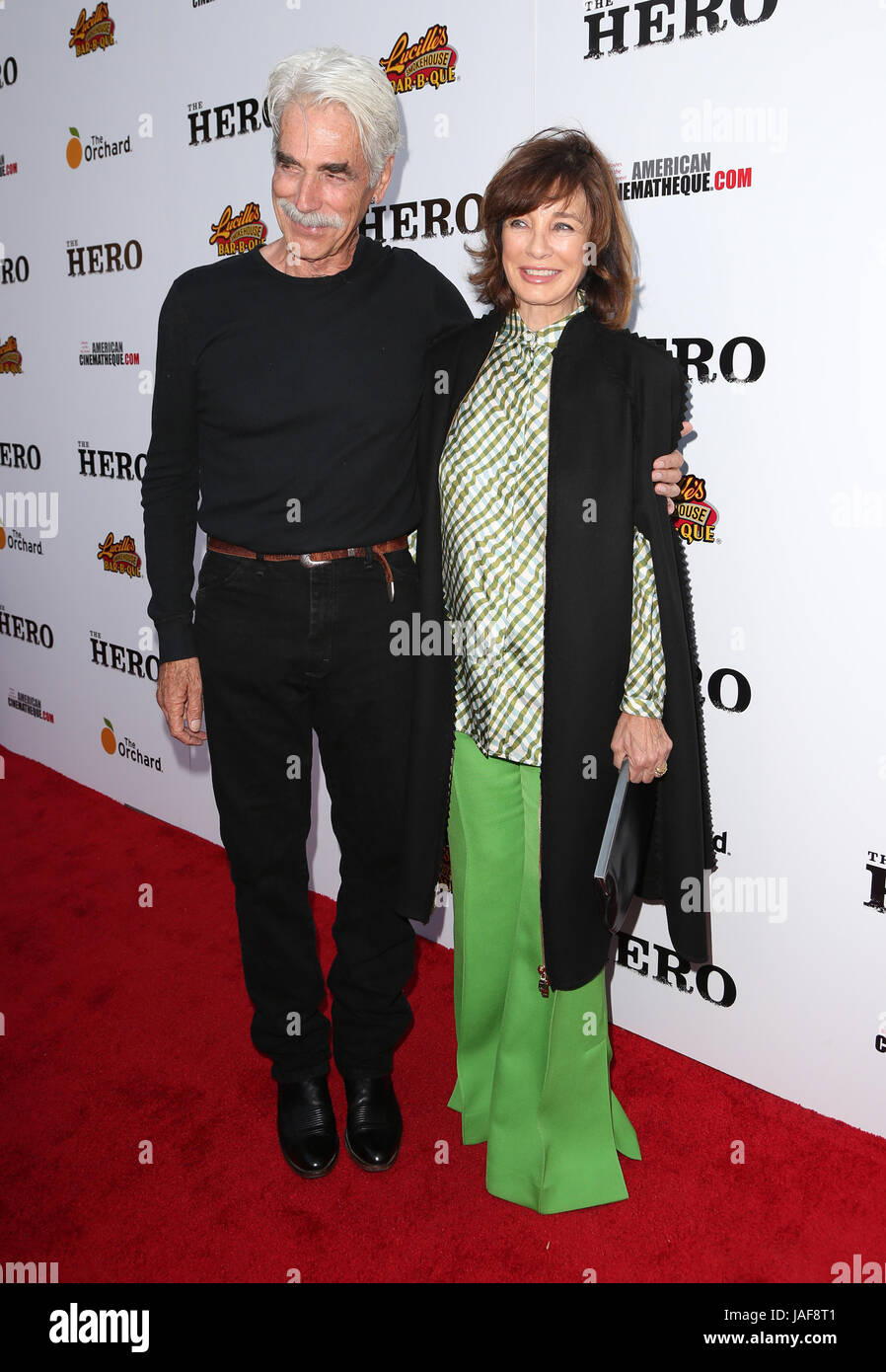 Hollywood, CA, USA. 5th June, 2017. 05 June 2017 - Hollywood, California - Sam Elliott, Anne Archer. ''The - Stock Image