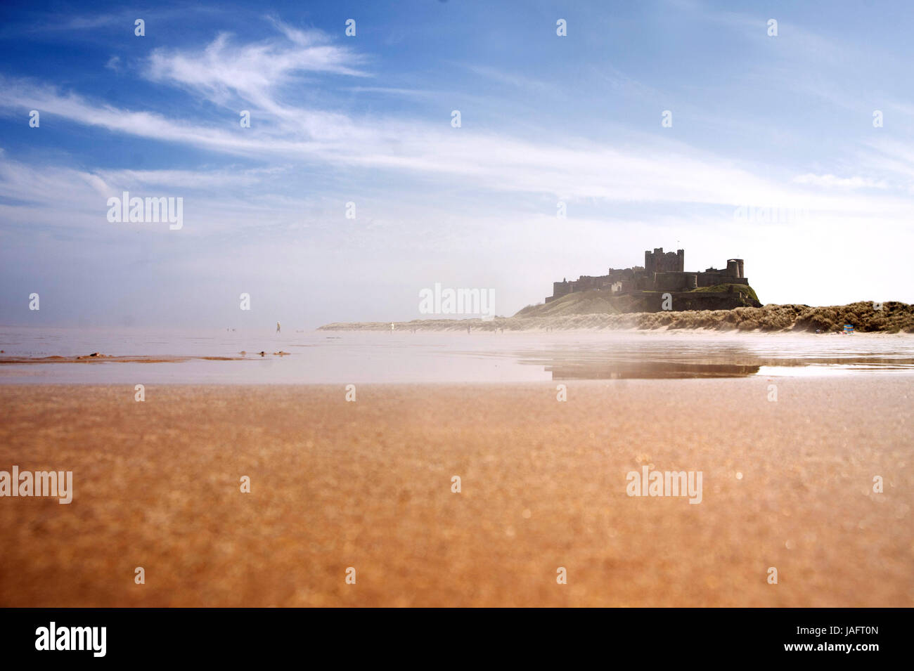 Bamburgh Castle, Northumberland Stock Photo
