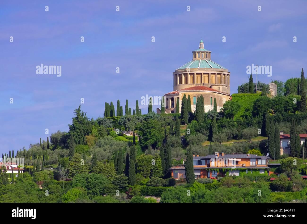 Verona Santuario della Madonna di Lourdes 02 Stock Photo