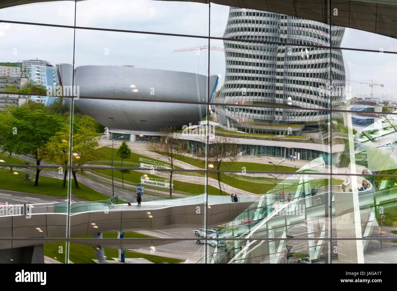 BMW Welt München, Germany - Stock Image