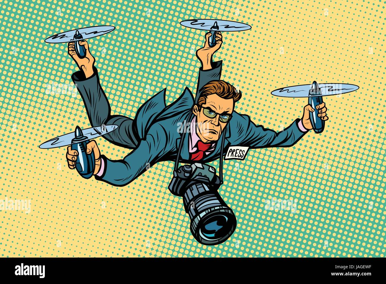 Paparazzi Photographer Stock Vector Images Alamy