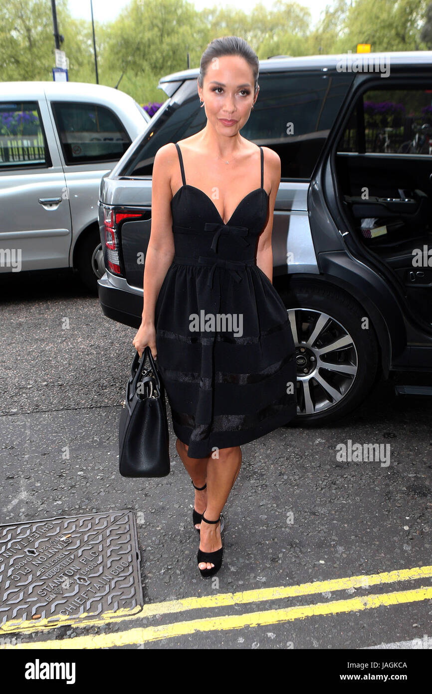 674e6e7c7 Myleene Klass arrives at the Hilton Hotel for the CEW Beauty Awards 2017  Winners Announcement Lunch Featuring: Myleene Klass Where: London, United  Kingdom ...