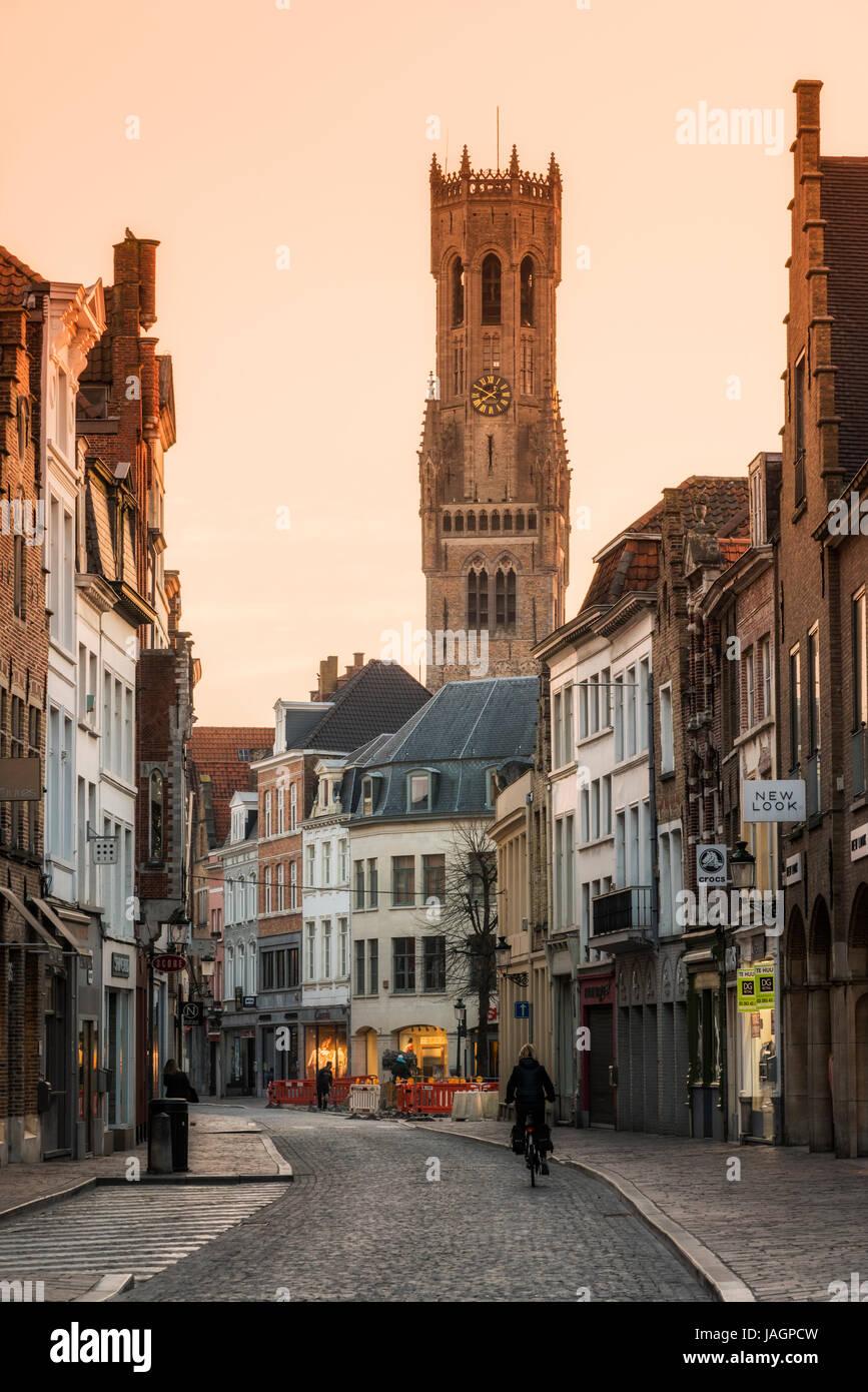 Bruges, West Flanders, Belgium - Stock Image