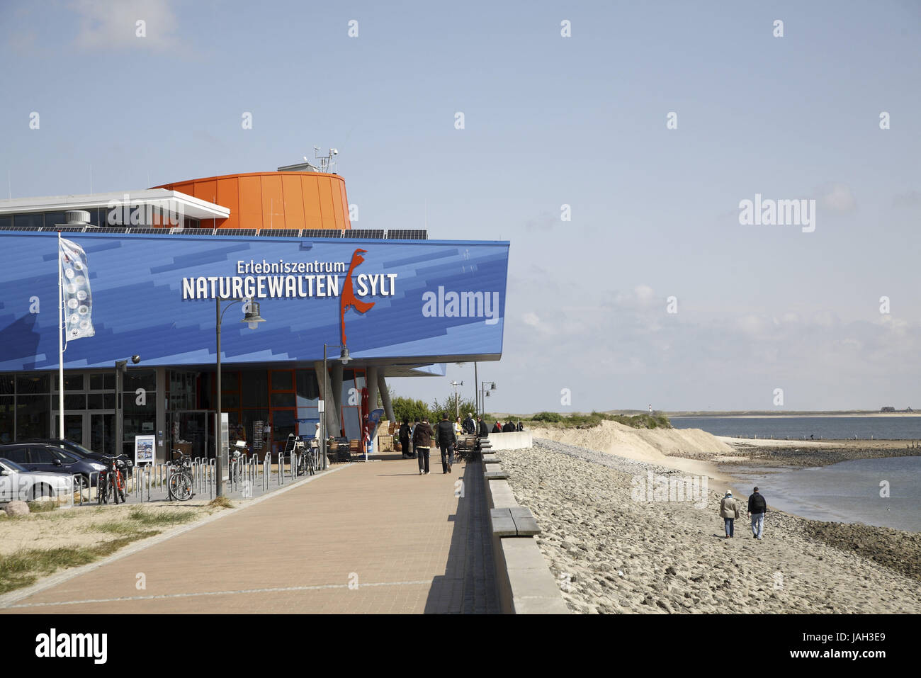 Germany,North Sea island Sylt,list,harbour,experience centre 'forces of nature', - Stock Image