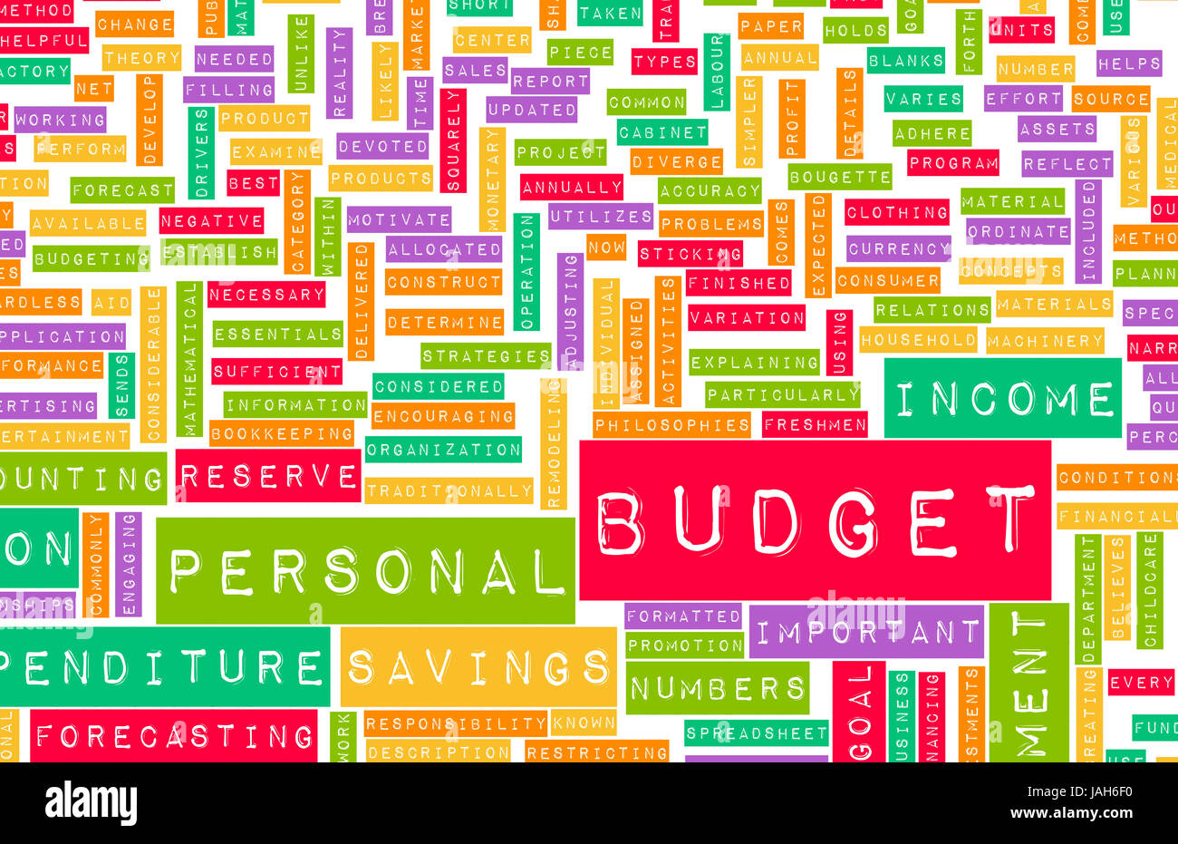 monthly budget plan income stock photos monthly budget plan income