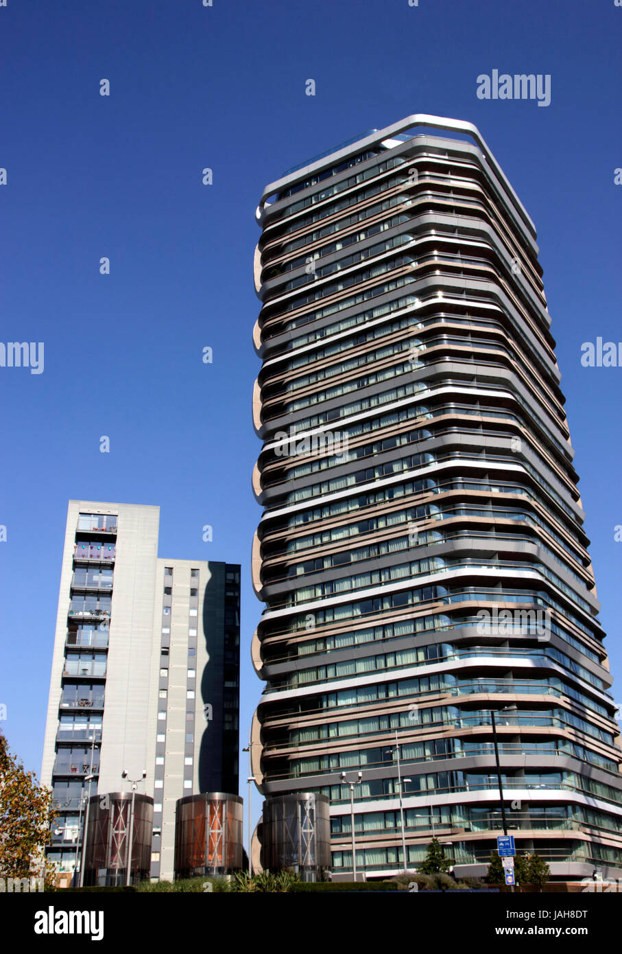 Canaletto Tower City Road Islington London Stock Photo