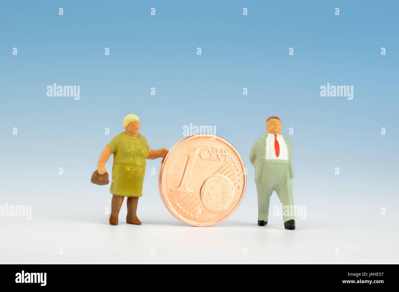elder person older person - Stock Image