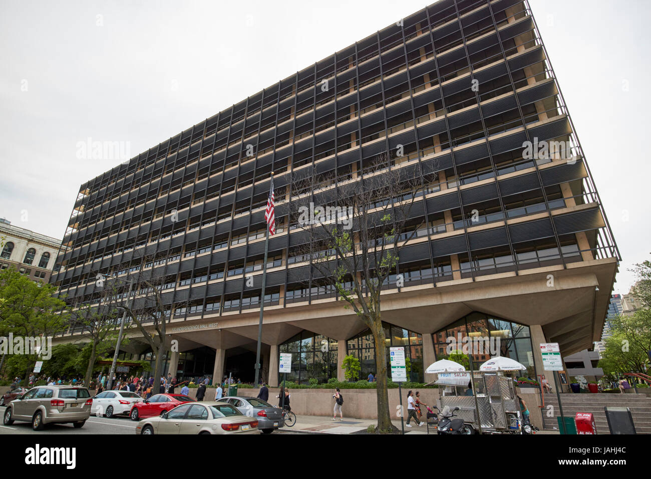 rohm and haas corporate headquarters office building Philadelphia USA - Stock Image